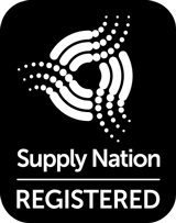 Supply Nation REGISTERED BLACK